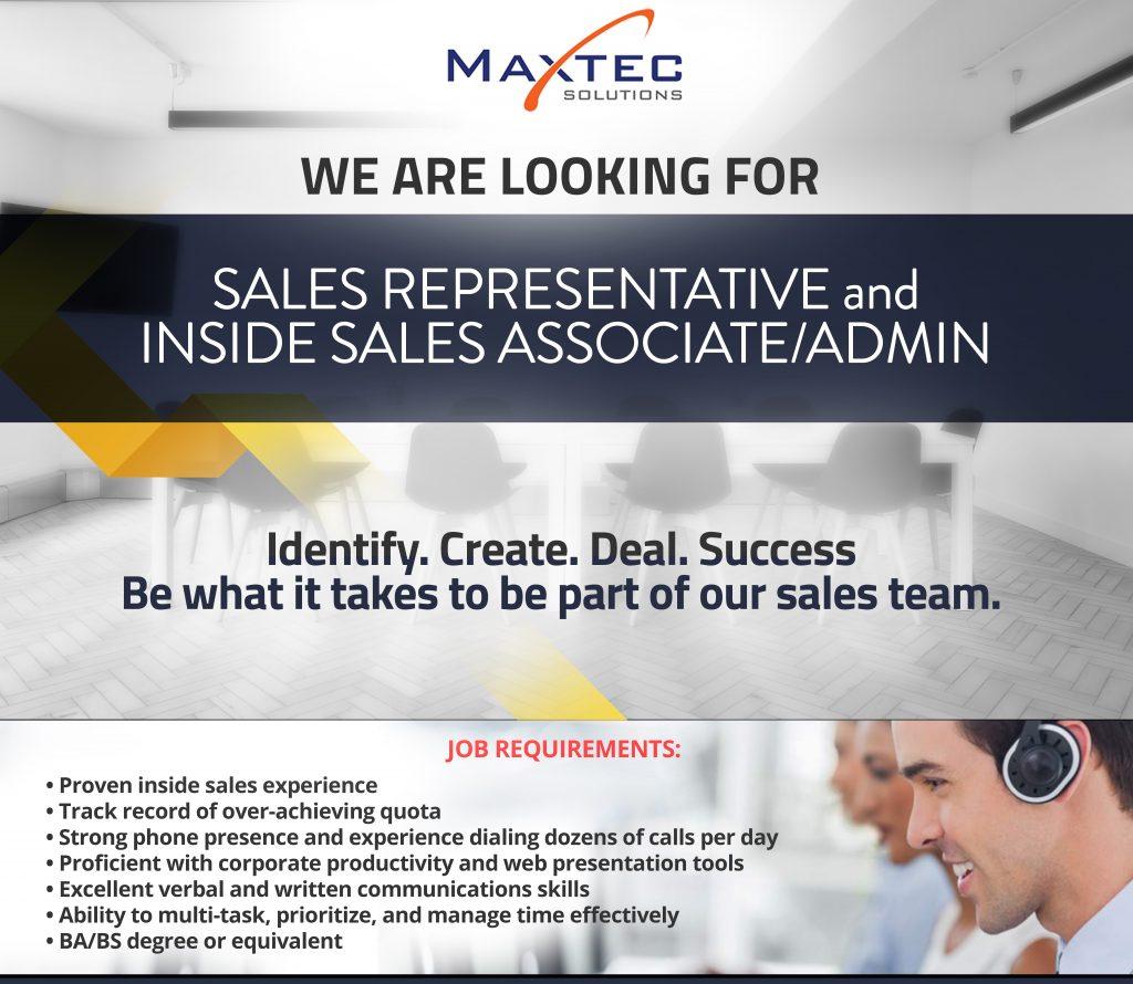 Maxtec Hiring Careers